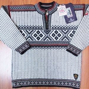 Sz M- NEW! DALE OF NORWAY 2002 OLYMPIC SKI SWEATER
